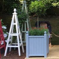 Versailles Planter, Accoya Wooden Garden Planters Painted any Colour